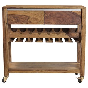 Two Drawer Wine Server