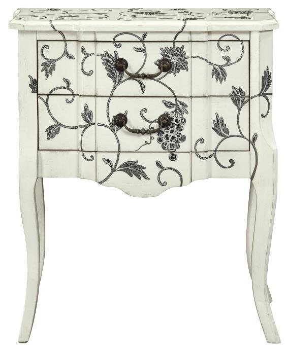 Morris Home Furnishings Lithuania Lithuania 2 Drawer Accent Table - Item Number: 311990317