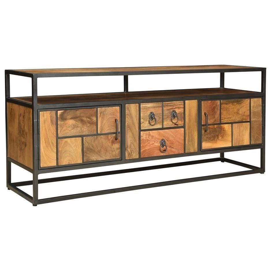 Two Door Two Drawer Media Console