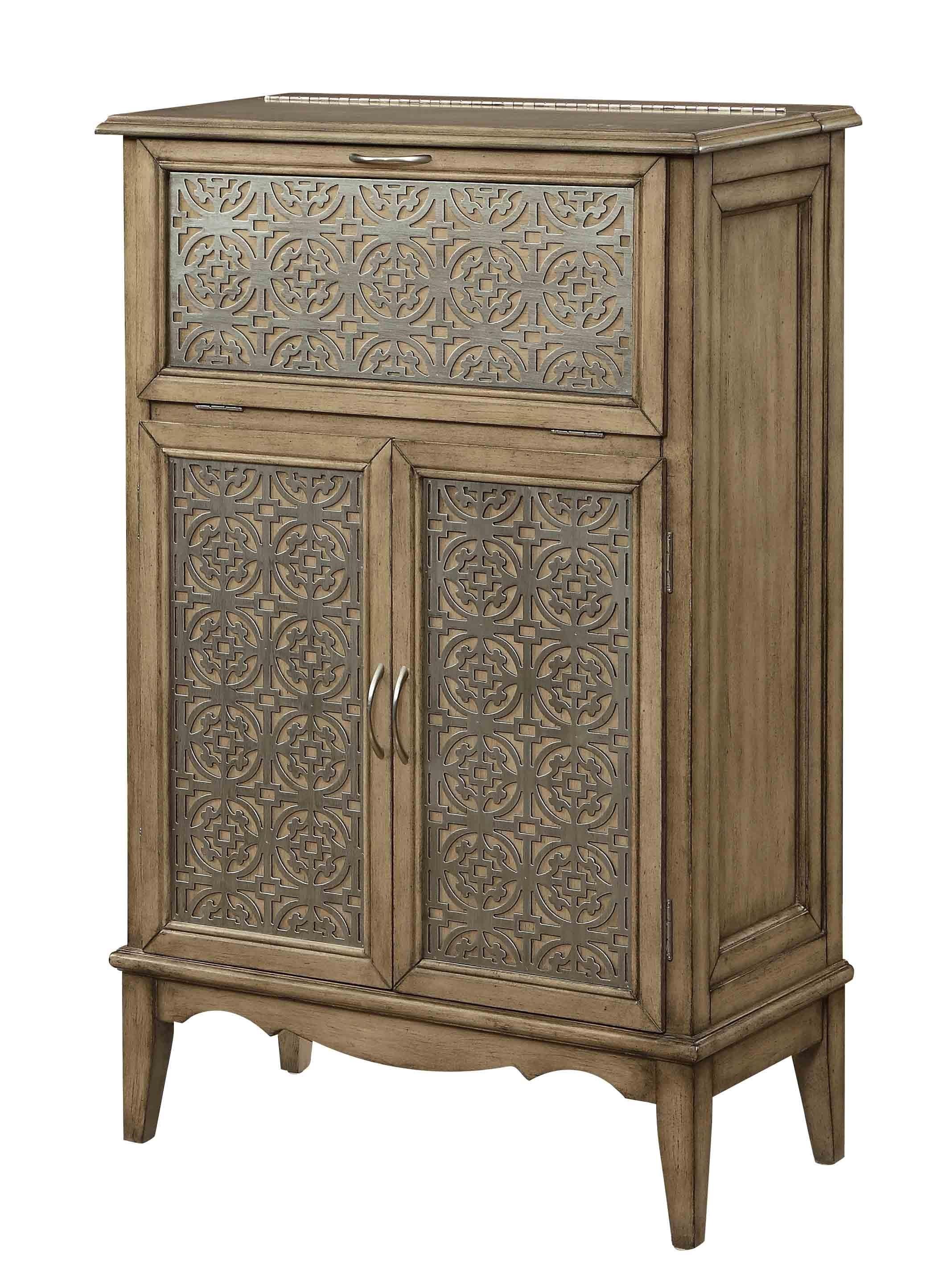 Morris Home Furnishings Marseille Marseille 2 Door Drop Lid Cabinet - Item Number: 923416682