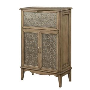 Morris Home Furnishings Marseille Marseille 2 Door Drop Lid Cabinet