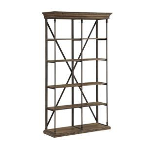 "Morris Home Furnishings Nepal Nepal 86"" Bookcase"
