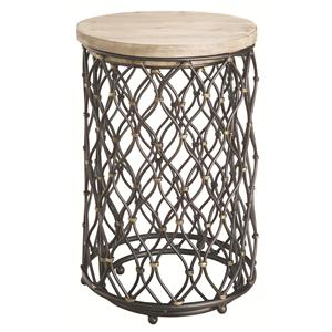 Coast to Coast Imports Occasional Accents 2 Piece Nestled Table