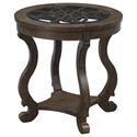 Coast to Coast Imports Orchard Park Round End Table - Item Number: 36530