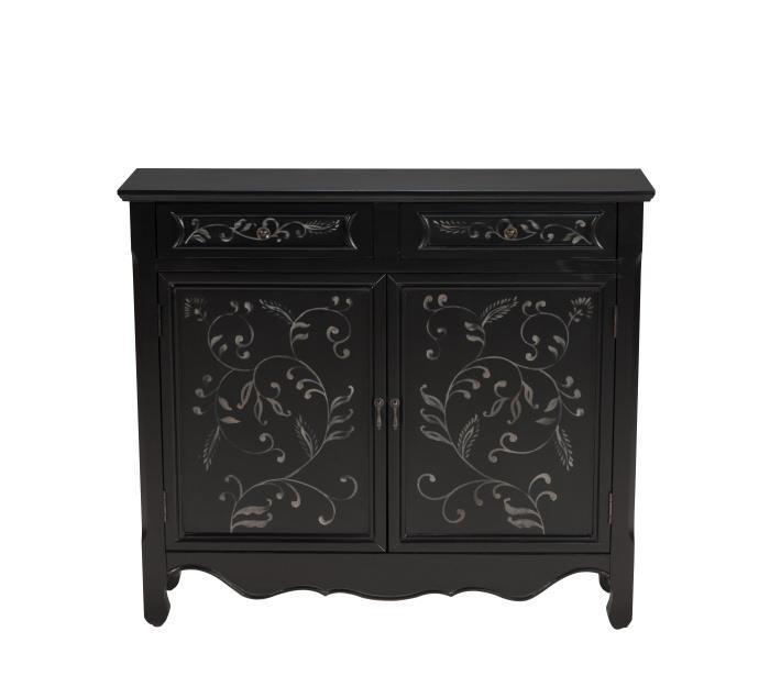 Morris Home Furnishings Romania Romania  2 Drawer Sideboard with Cabinet - Item Number: 977549361