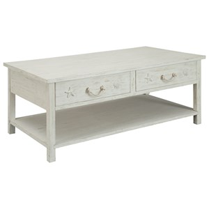 Sanibel Four Drawer Cocktail Table