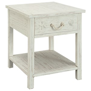 Sanibel One Drawer End Table