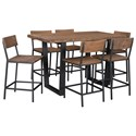Coast to Coast Imports Sequoia Counter Height Dining Table
