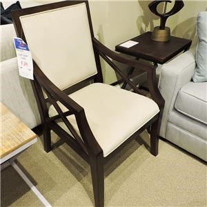 Accent Chair With X Arm