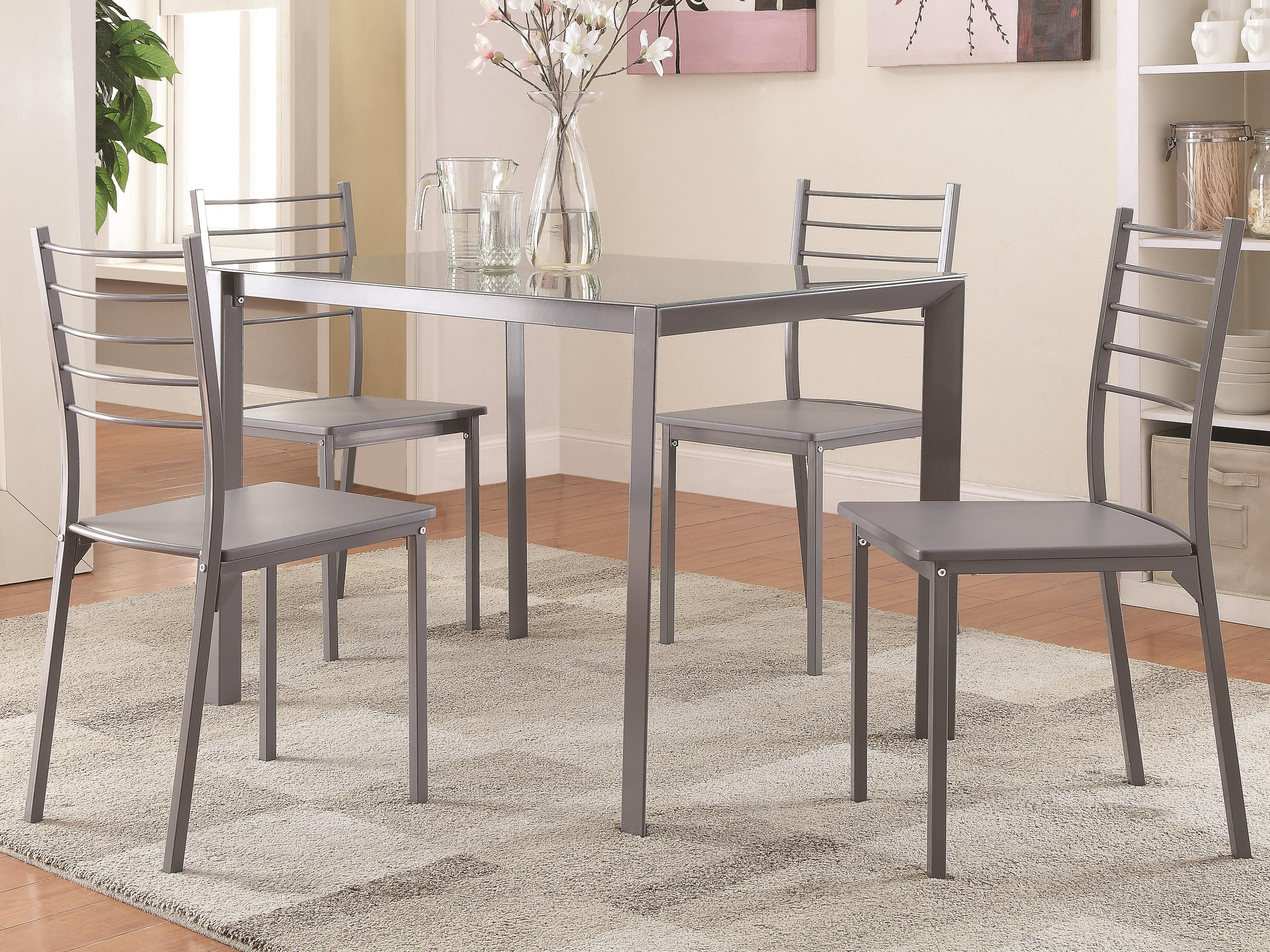 Coaster 100027 Table and Chair Set - Item Number: 100027