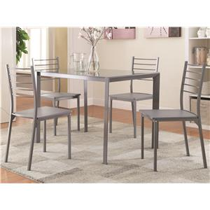 Coaster 100027 Table and Chair Set