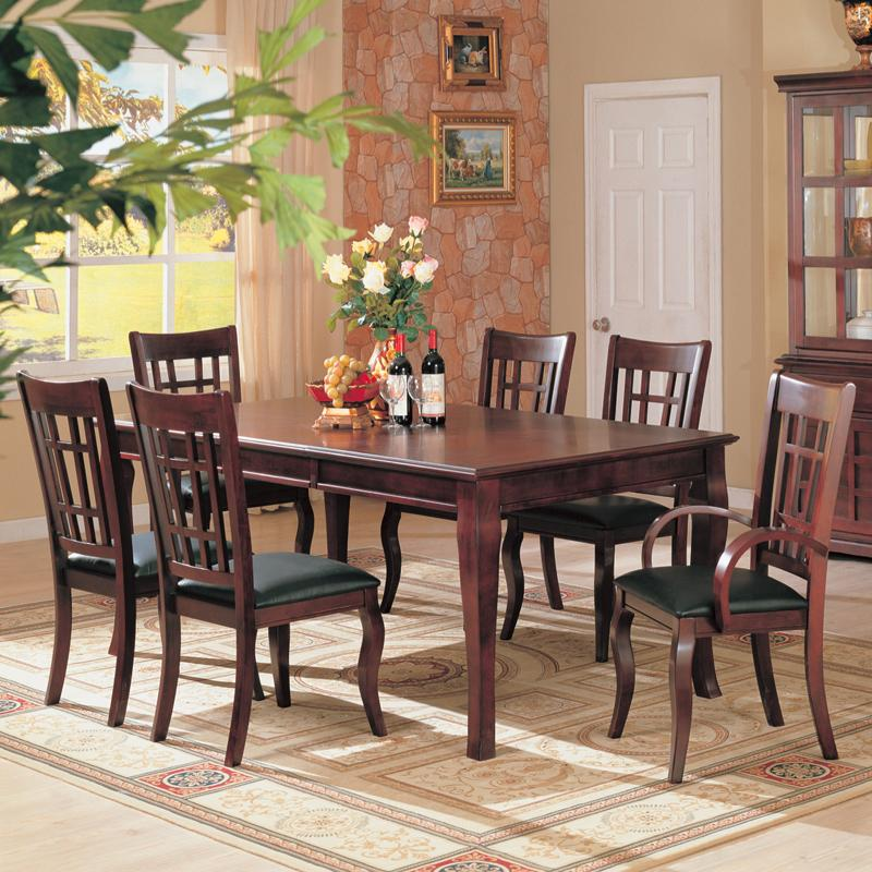Coaster Newhouse 7 Piece Dining Set - Item Number: 100500+2x100503+4x100502