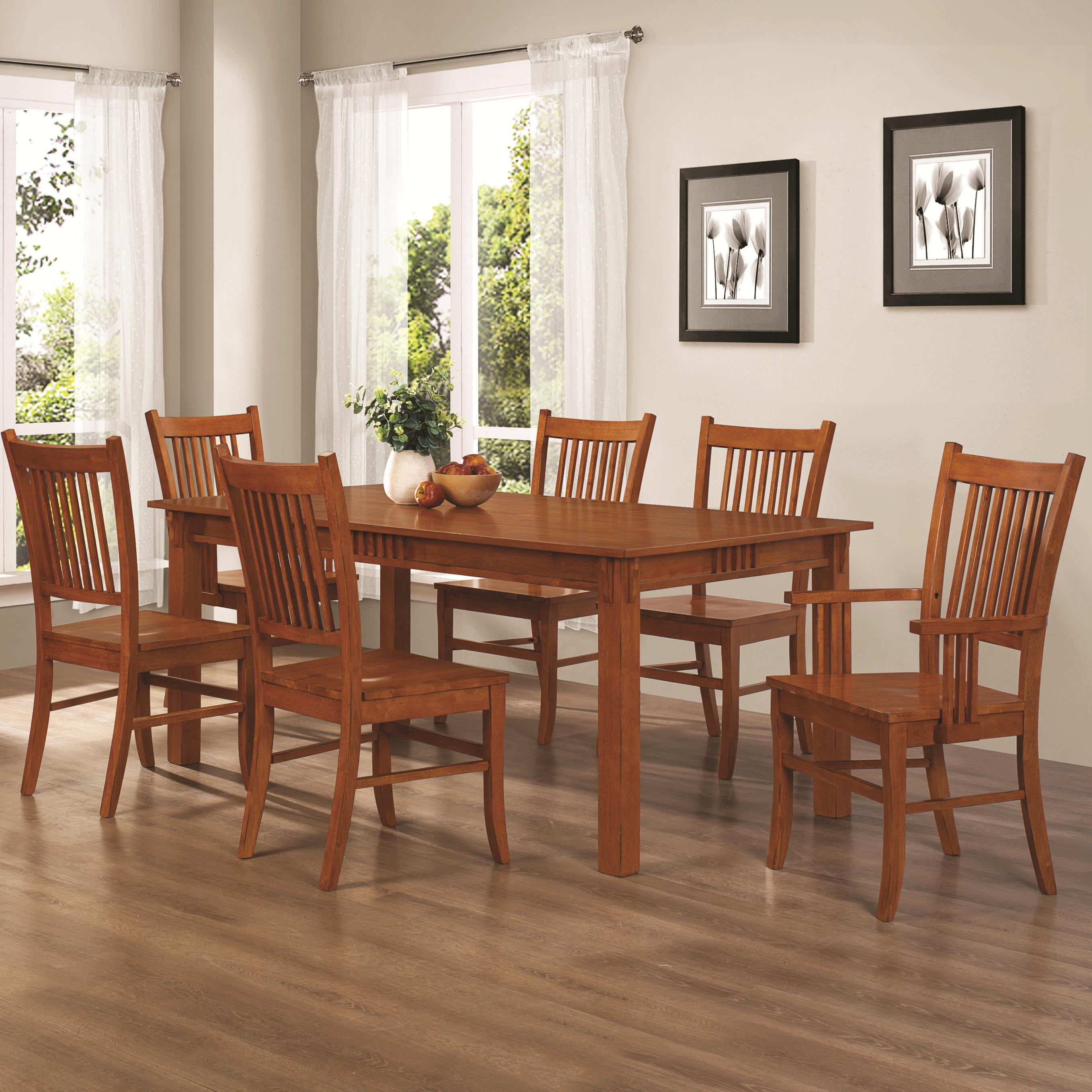 Marbrisa 7 Piece Dining Set by Coaster at Standard Furniture
