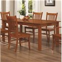 Coaster Marbrisa Dining Table - Item Number: 100621