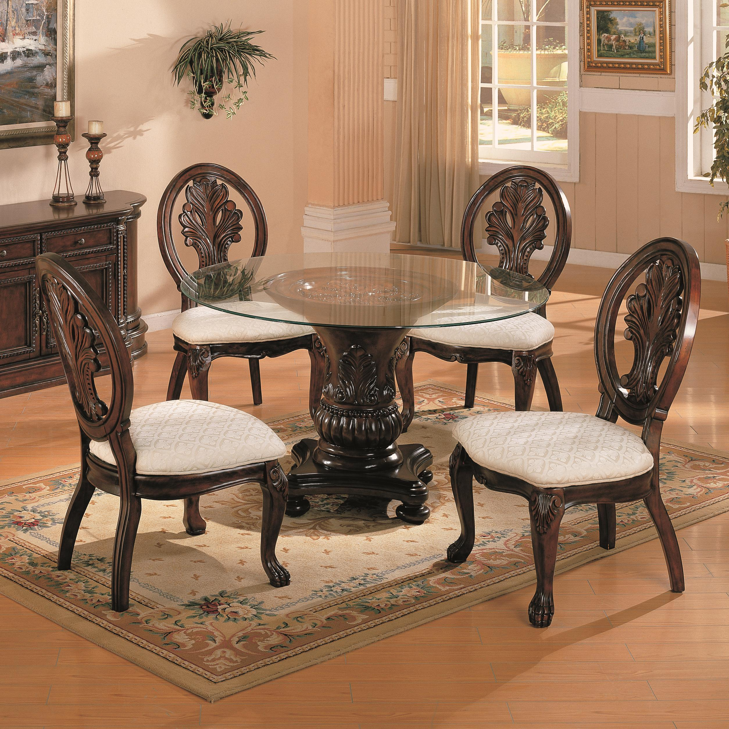 Coaster Tabitha 5 Piece Dining Set - Item Number: 101030+4x032