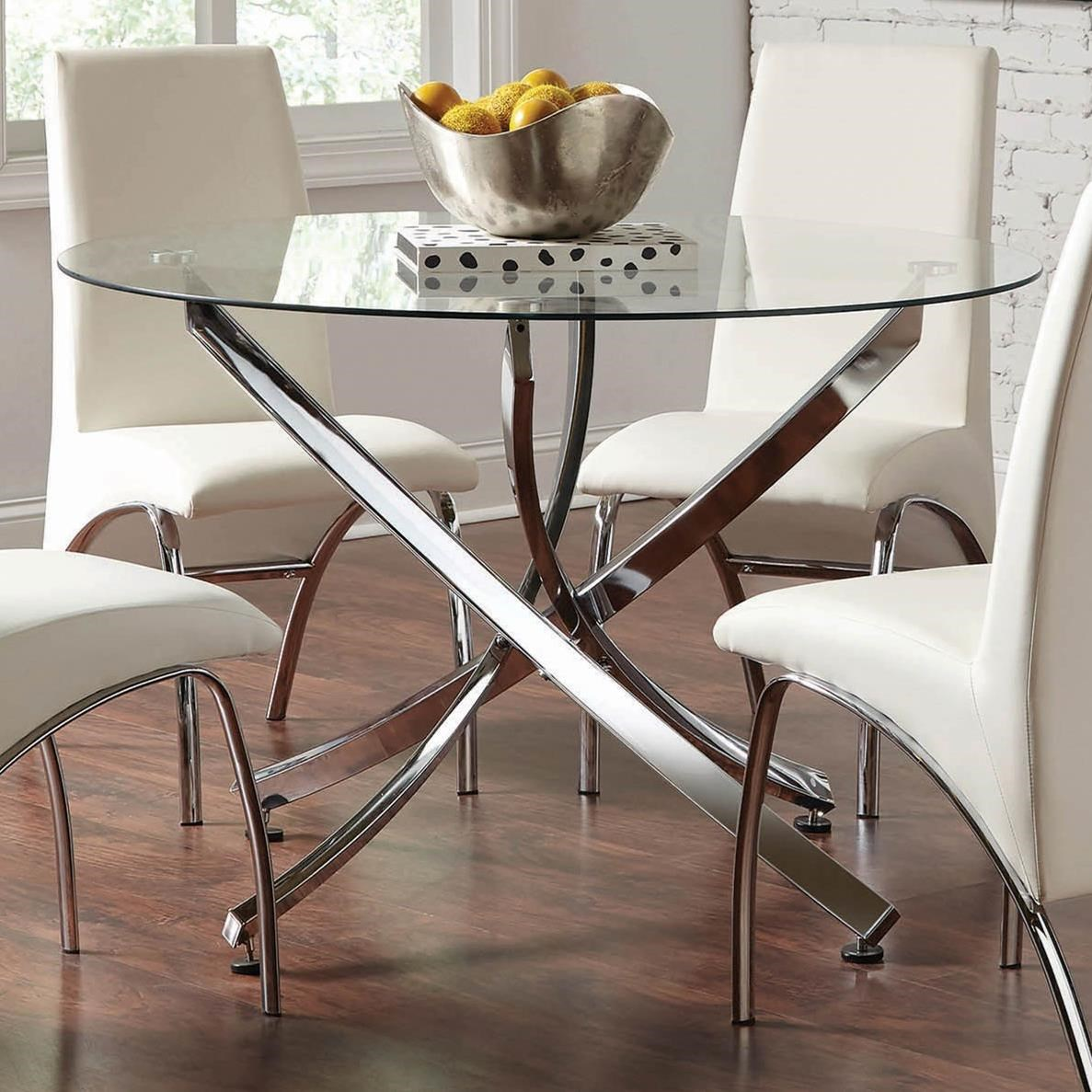 Beckham Dining Table by Coaster at Furniture Superstore - Rochester, MN