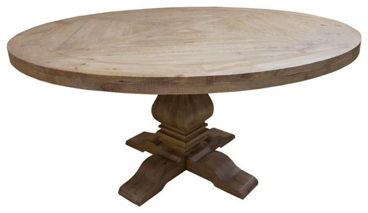 Coaster Florence Round Pedestal Table - Item Number: 180200T