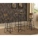 Coaster 182003 Pub Table Set for Two - Item Number: 182003