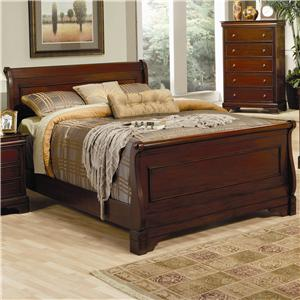 Coaster Versailles California King Sleigh Bed