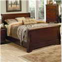 Coaster Versailles California King Sleigh Bed - Item Number: 201481KW