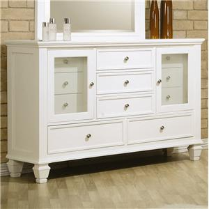 Coaster Sandy Beach Dresser