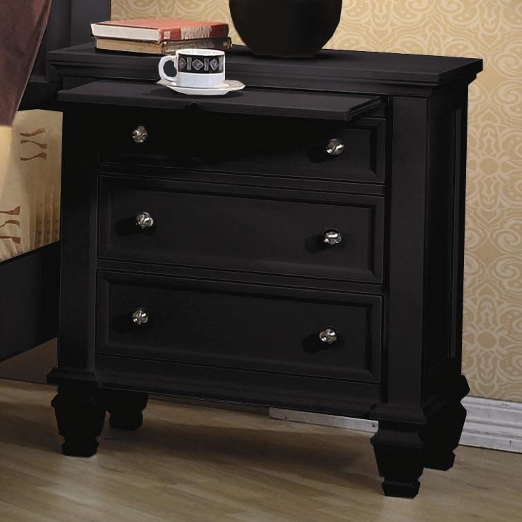 Coaster Sandy Beach Nightstand - Item Number: 201322