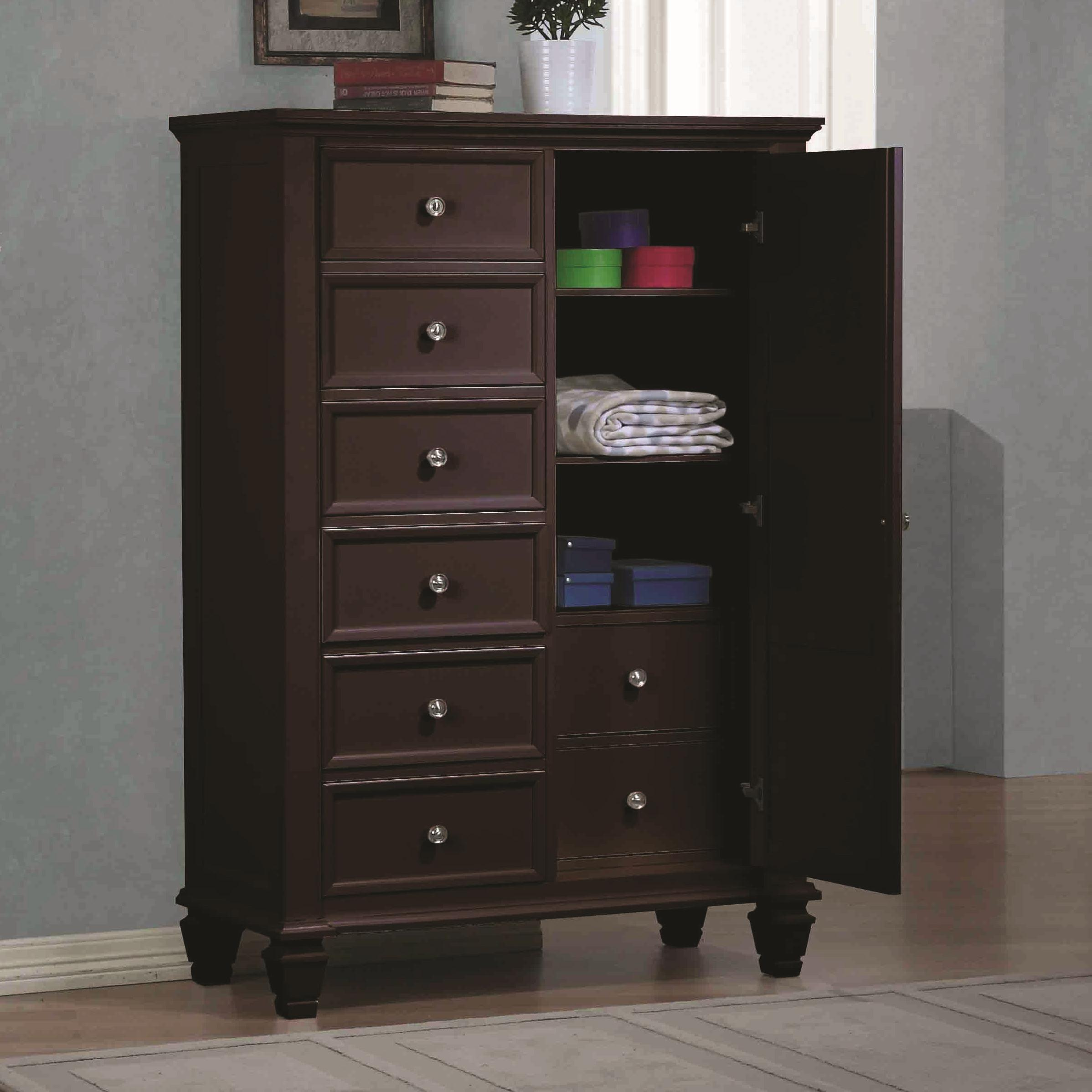Sandy Beach Door Dresser by Coaster at Prime Brothers Furniture