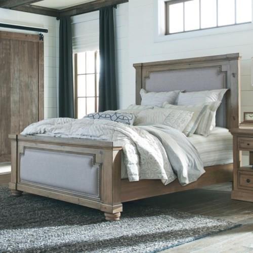 Coaster 20517 King Upholstered Bed - Item Number: 205171K