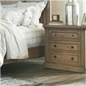 Coaster 20517 Three Drawer Nightstand - Item Number: 205176N