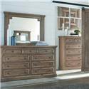 Coaster 20517 Double Dresser - Item Number: 20517M