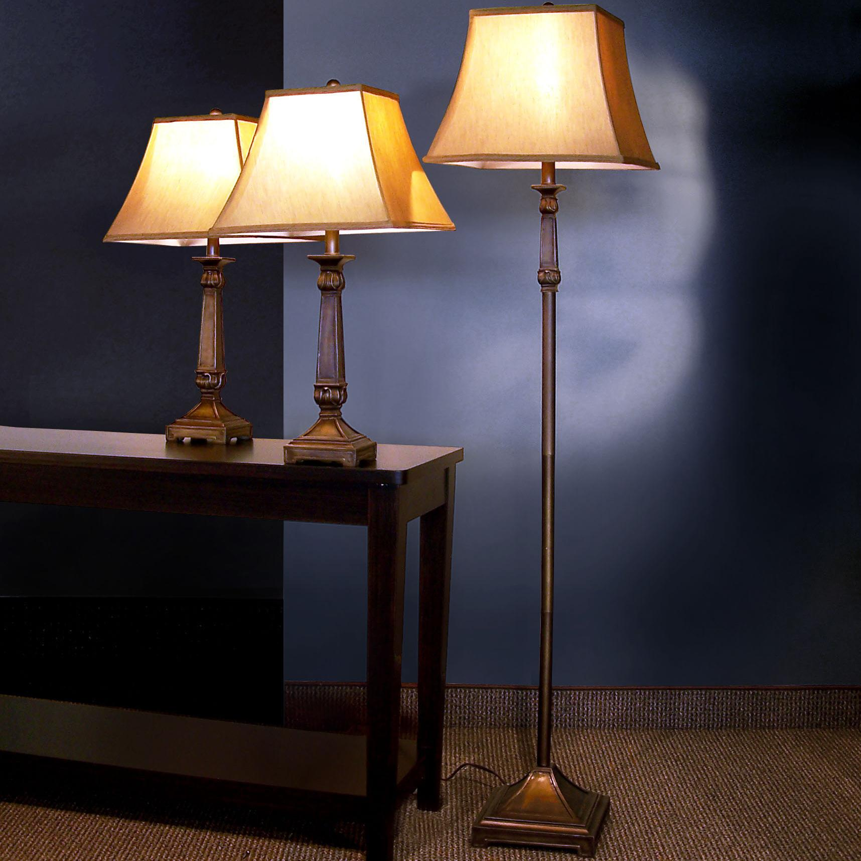 Coaster 3 Pack Lamp Sets 3 Piece Lamp Set - Item Number: 901160