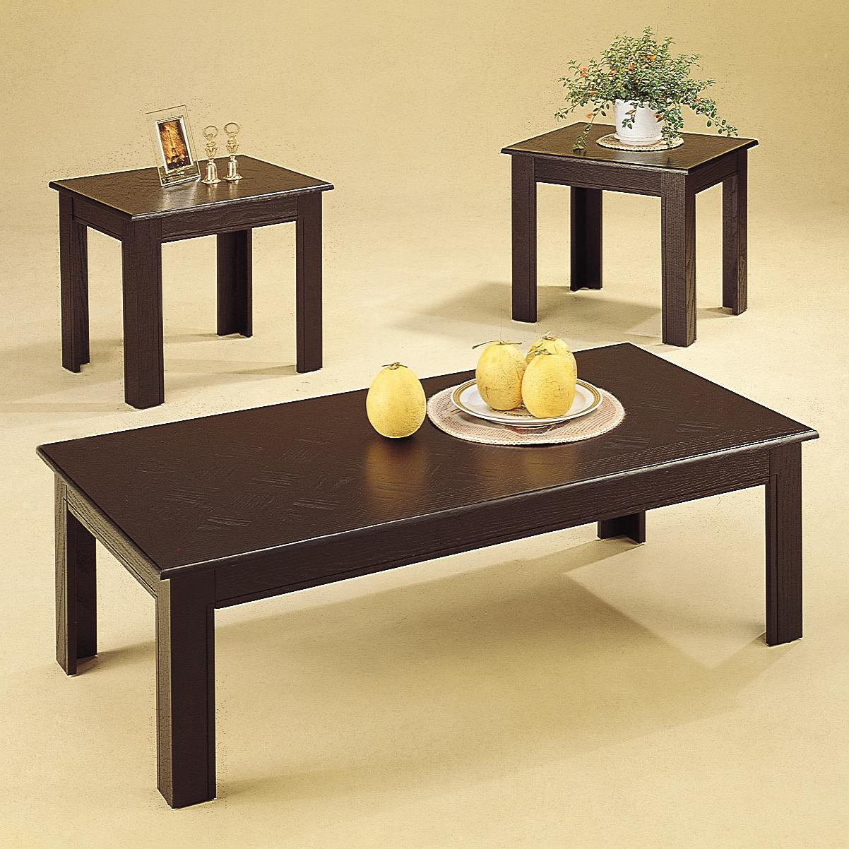 Coaster Occasional Table Sets 3 Piece Table Set - Item Number: 5169
