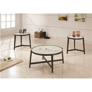 Coaster 3 Piece Occasional Table Sets 3 Piece Occasional Set
