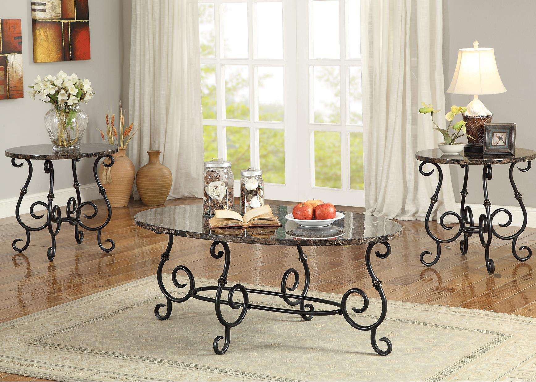 Coaster Occasional Table Sets 3 Piece Accent Table Set - Item Number: 700187