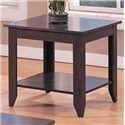 Coaster Occasional Table Sets Contemporary 3 Piece Occasional Table Set with Shelves - End Table, Part of 3 Piece Set