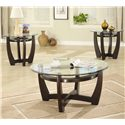 Coaster Occasional Table Sets 3 Piece Table Set - Item Number: 700295