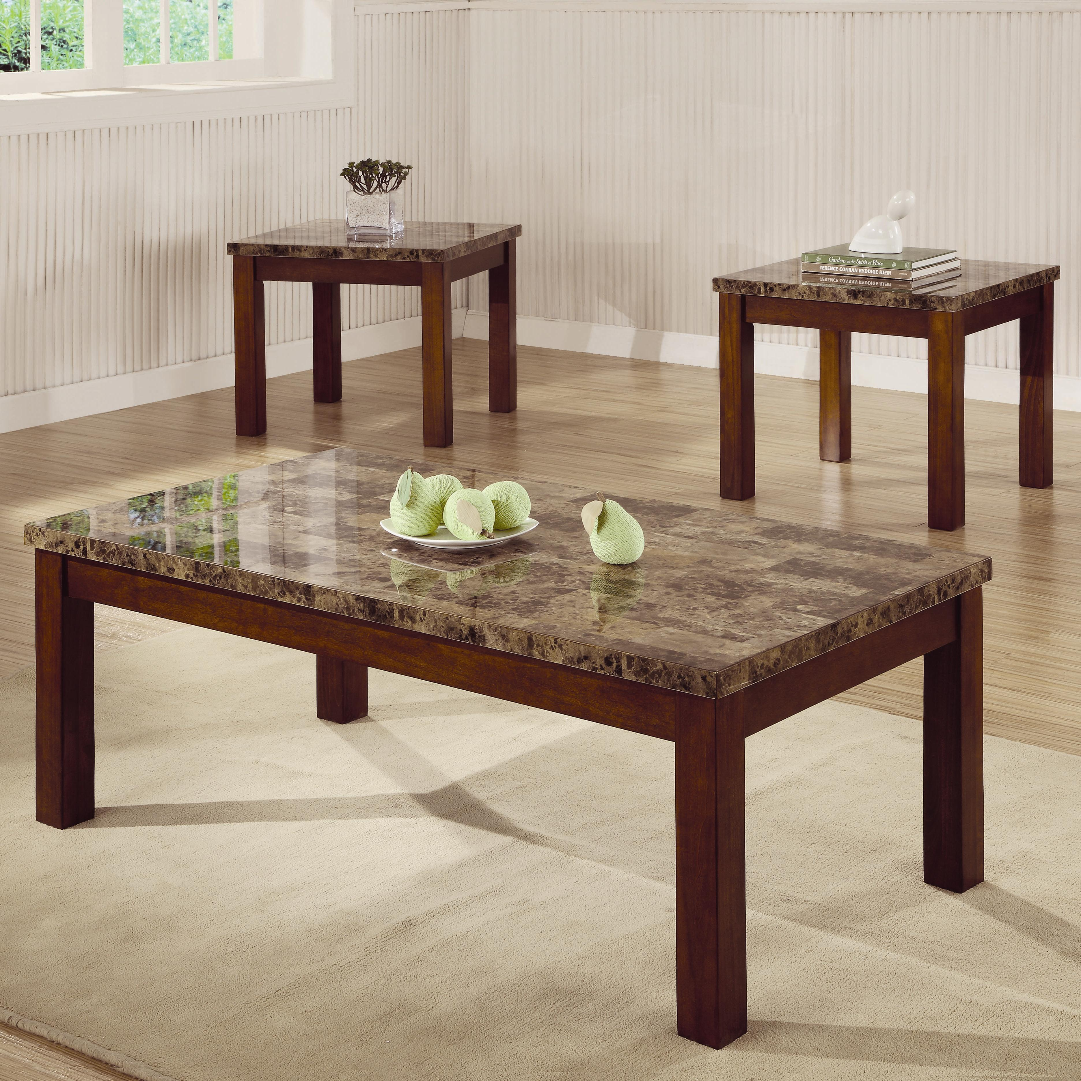 Coaster Occasional Table Sets 3 Piece Table Set - Item Number: 700305