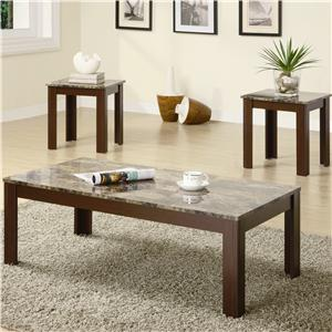 Coaster Occasional Table Sets 3PC Occasional Group