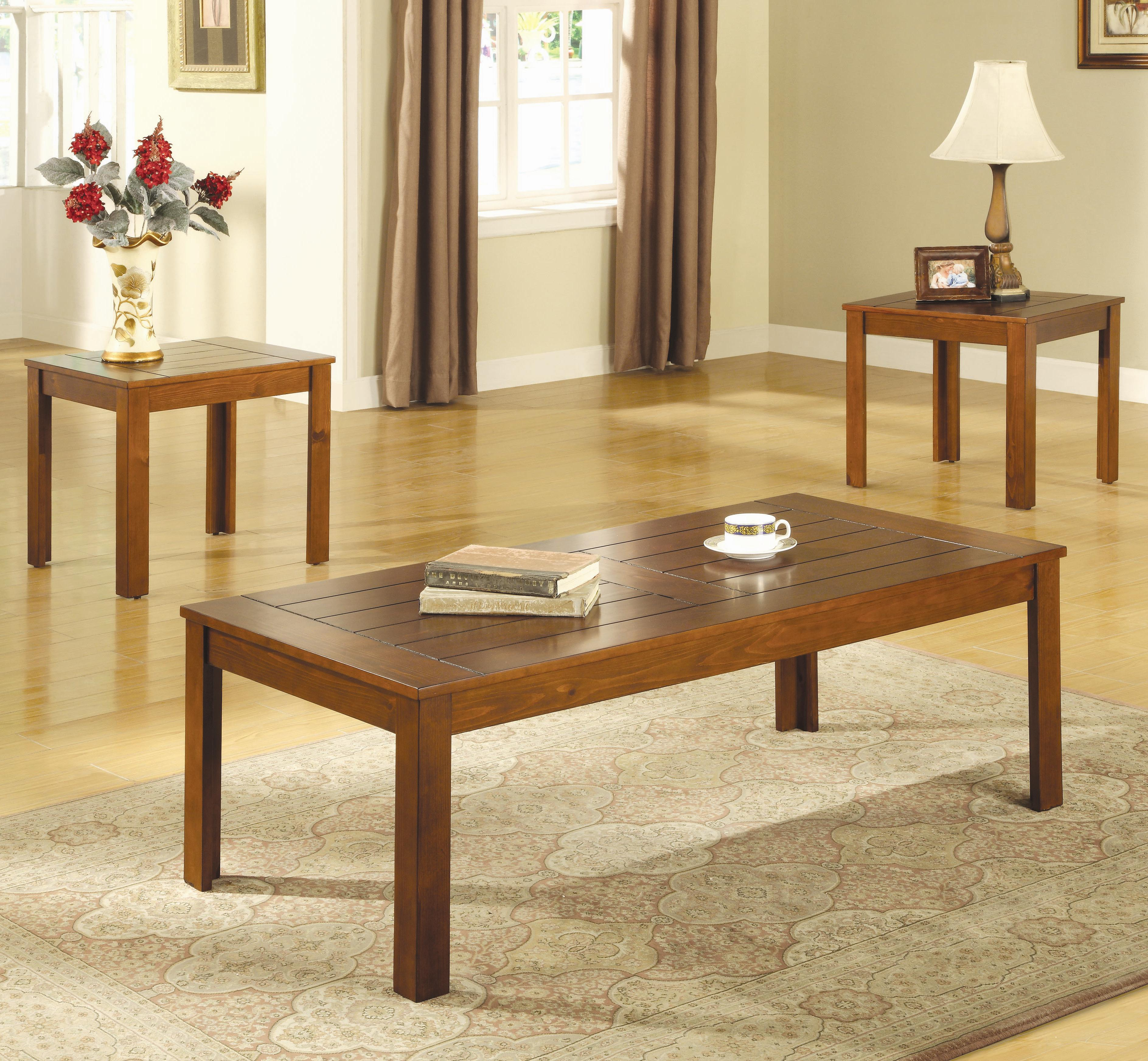 Coaster Occasional Table Sets 3 Piece Table Set - Item Number: 700570