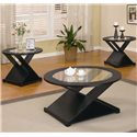 Coaster Occasional Table Sets 3 Piece Table Set - Item Number: 701501