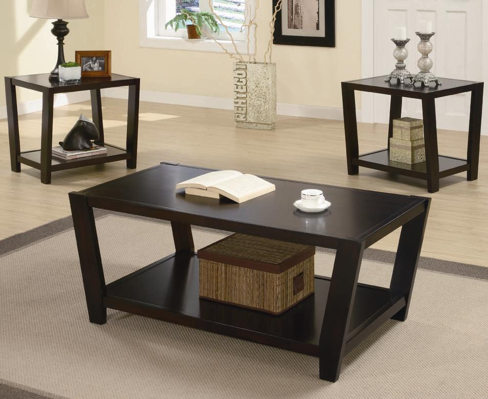 Coaster Occasional Table Sets 3 Piece Table Set - Item Number: 701510