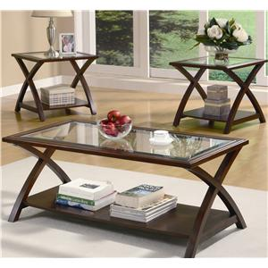 Coaster Occasional Table Sets 3 PC Occasional Group