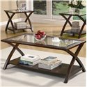 Coaster Occasional Table Sets Coffee Table and End Table Set - Coffee Table, Part of 3 Piece Set
