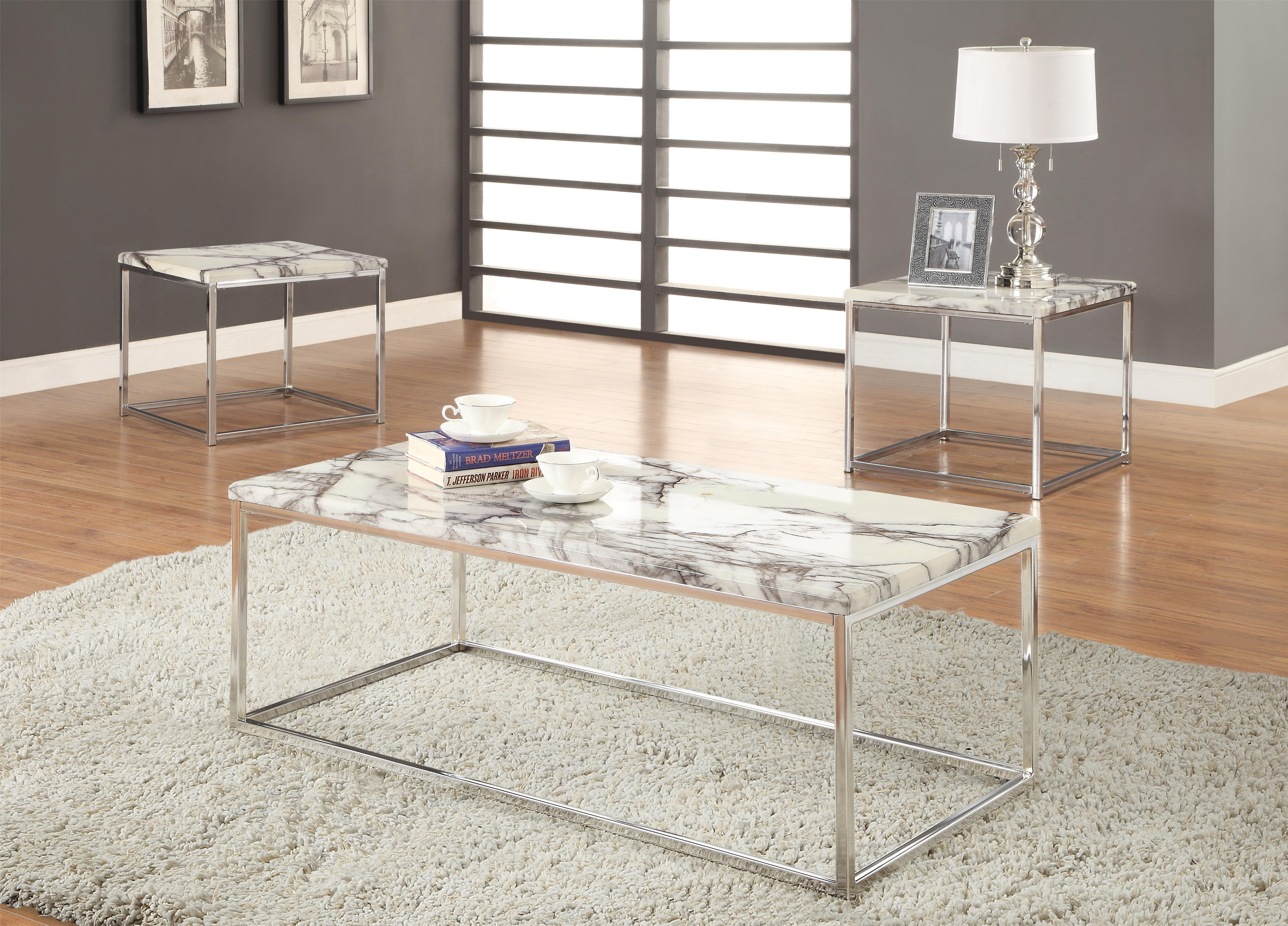 3 Piece Occasional Table Set