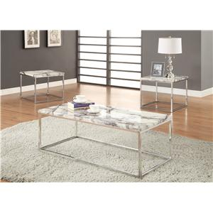 Coaster Occasional Table Sets 3 Piece Occasional Table Set