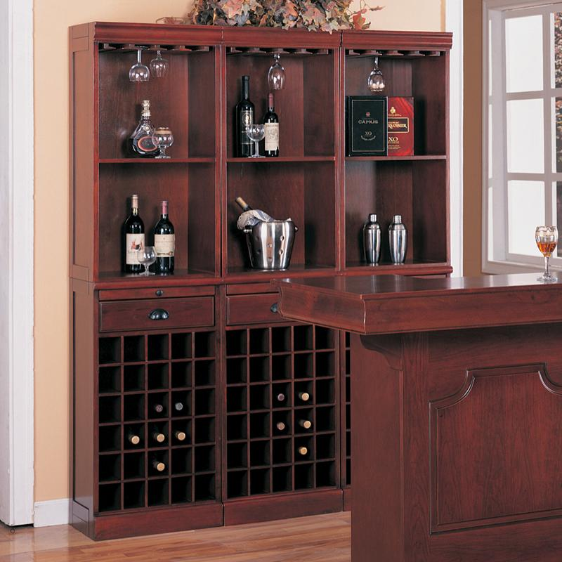 Coaster Lambert 3-Piece Wall Unit - Item Number: 3080-1x3