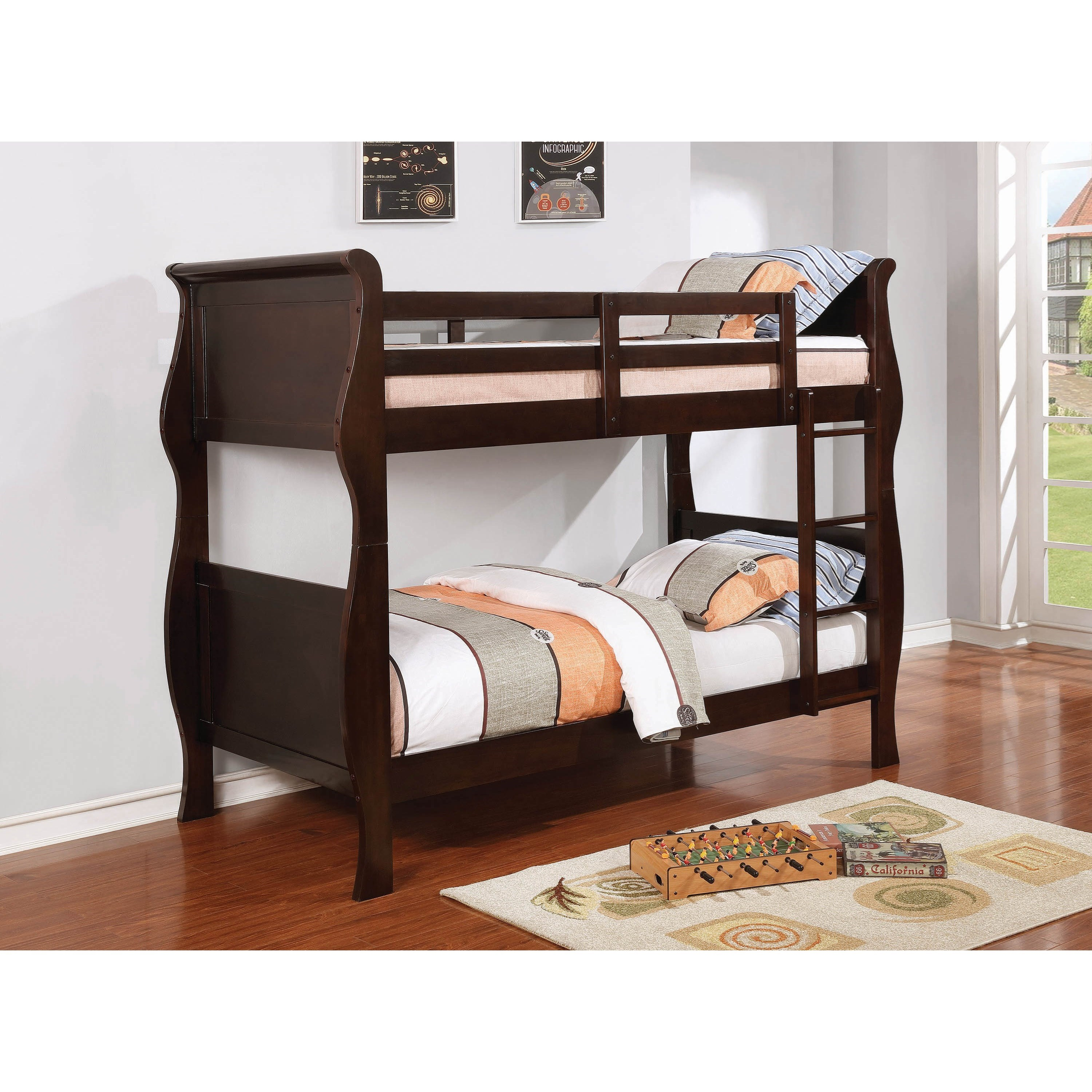 Benson Bunk Bed by Coaster at Northeast Factory Direct
