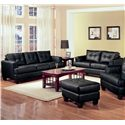 Coaster Samuel 2 Piece Loveseat and Sofa Group - Item Number: 501681+2