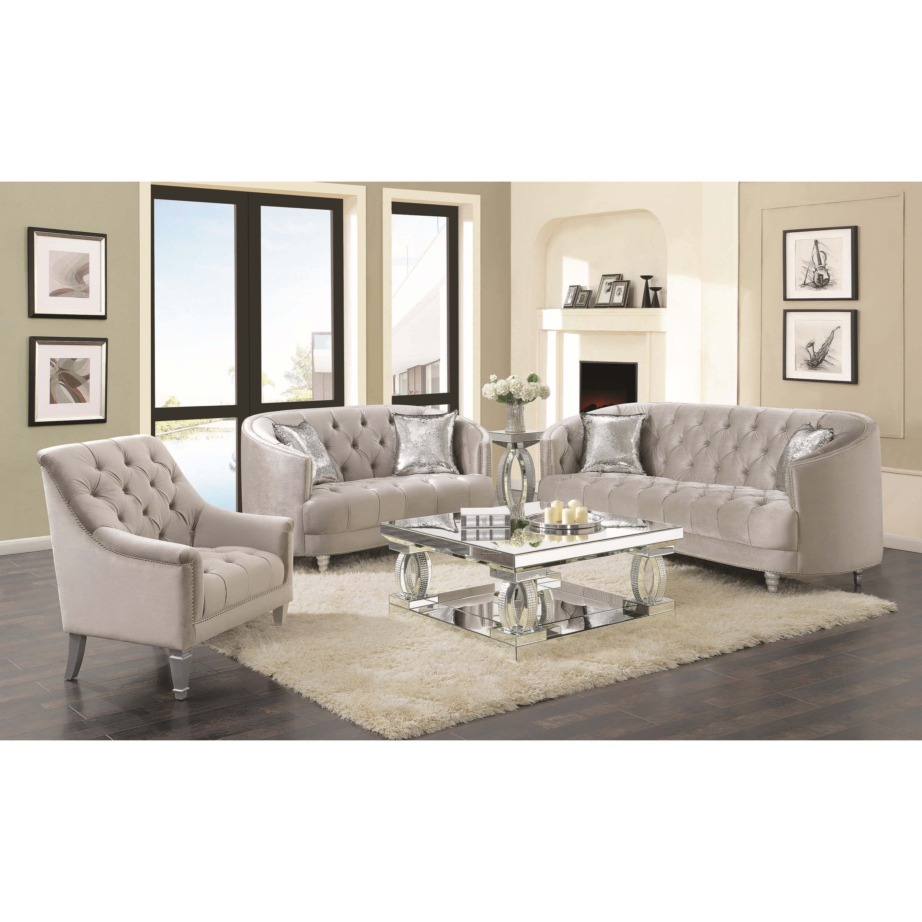 Avonlea Living Room Group by Coaster at Miller Home