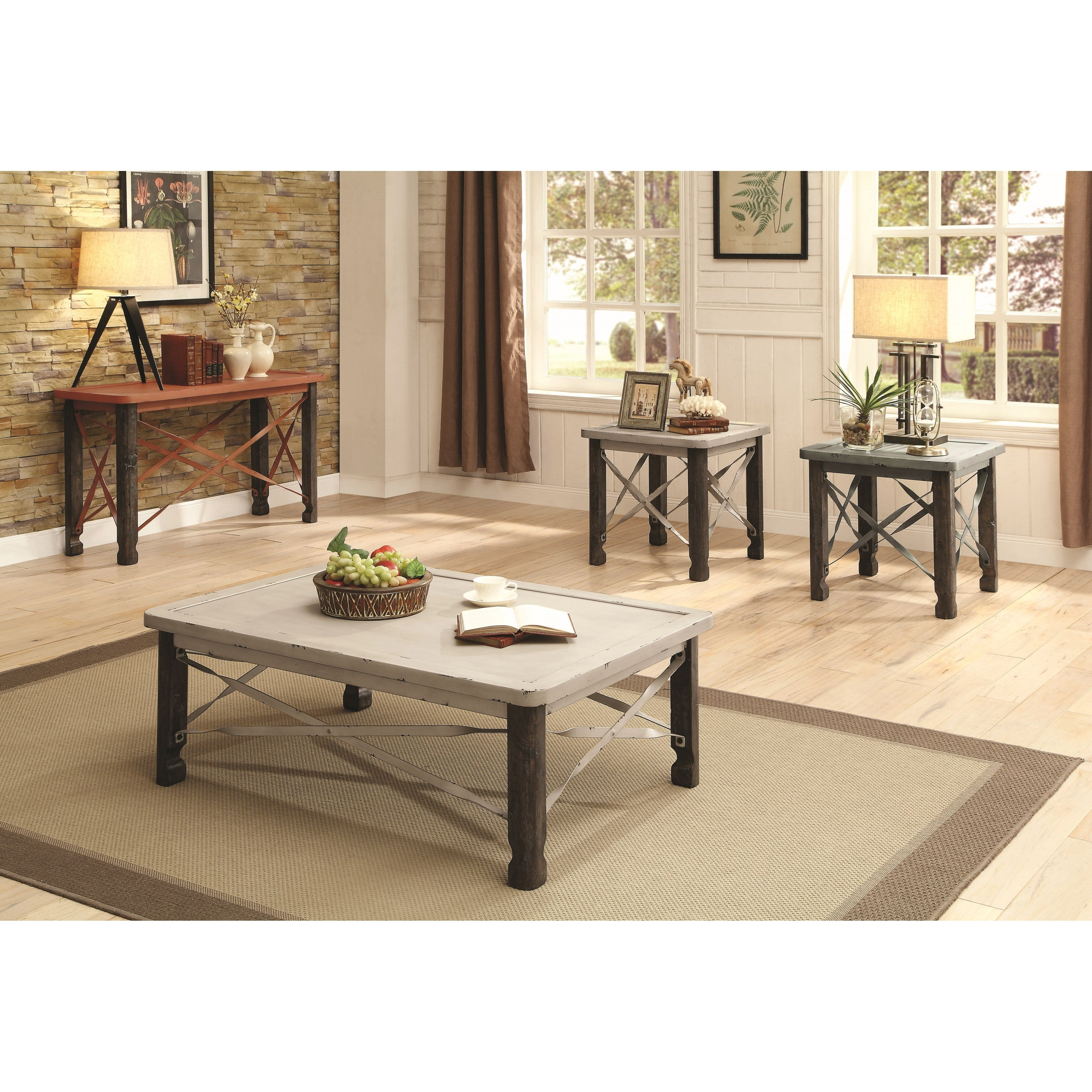 Coaster 700490 Occasional Table Group Value City Furniture Occasional Groups
